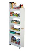 White Thin Man Pantry Cabinet