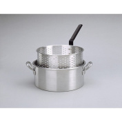Deep Fryer with Two Helper Handles and Basket