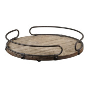 Acela Round Serving Tray