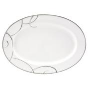Elegant Swirl 36cm Oval Platter
