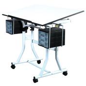 Weber Creation Station Melamine Deluxe Drafting Table