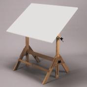 Royal Elm Melamine Drafting Table