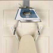 Over-the-Door Ironing Board Holder