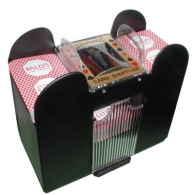 Six Deck Automatic Card Shuffler