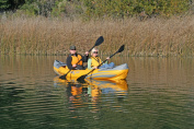 Friday Harbour Adventure Kayak in Yellow and Grey