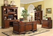 Bristol Court Lateral File Cabinet in Cognac Cherry