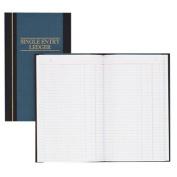 Account Book, S.E. Ledger-Ruled, 150 Pages, 30cm x18cm , Blue
