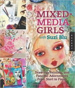 Quayside Publishing Quarry Books-mixed Media Girls With Suzi Blu