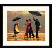 The Singing Butler Framed Art Print by Jack Vettriano