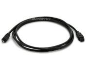 9 PIN/ 4PIN BILINGUAL FireWire 800 - FireWire 400 Cable, 1.8m, Black