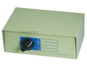 Monoprice 101372 RJ11 / RJ12 ABCD 6P6C 4Way Switch Box