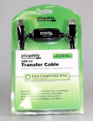 Plugable Windows Transfer Cable for Windows 8.1, 8, 7, Vista, XP. Includes Bravura Easy Computer Sync Software