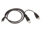 0.8m USB A Male to USB A Male and USB Mini-B 5pin Male Cable [Electronics]
