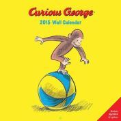 Curious George 2015 Wall Calendar