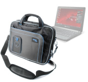 DURAGADGET Durable Multiple Storage Laptop Bag Compatible With Toshiba Portégé R830, Portégé R700, Netbook NB250 & Packard Bell Dot A
