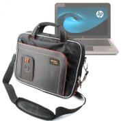 Premium Quality Laptop Shoulder Case For HP Mini 110 & 210, Pavilion DM1 & DV3 By DURAGADGET