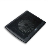 "Syba Connectland CL-NBK68015 Spyker 12"" - 15.4"" Notebook Cooler Pad with Giant 16cm Cooling Fan"