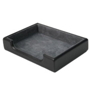 Royce Leather Desk Accessory Tray