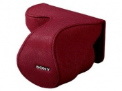 Sony Lens Case Jacket for NEX-5 NEX-3/C3 with E18-55mm F3.5-5.6 OSS (SEL1855) | LCS-EML2A R RED