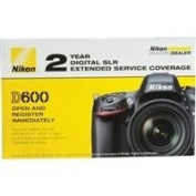 Nikon 2 Year Extended Service Coverage Agreement for the Nikon D600 Digital SLR Cameras