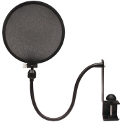 Nady MPF-6 15cm Clamp On Microphone Pop filter