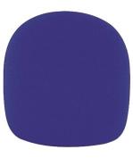 Tour Grade TWS01BL Ball Style Foam Microphone Windscreen, Blue