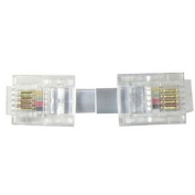 RJ11 6P4C Reverse Phone Cable for Voice