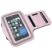 ASleek Gym Running Sport Armband Case for iPhone 3G/3GS/4/4S - Pink