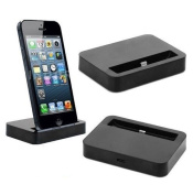 iPhone 5/5s/5c Black Data Sync Dock Stand Charger