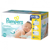 Pampers Sensitive Baby Wipes - 744 Count