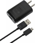 OEM LG USB Travel Charger Adapter w/ Data Cable MCS-02W