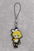 Vocaloid Kagamine Rin Rubber Straps Cellphone Charms Keychain