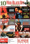 10 War-Black Ops Movies (Crash Dive/Black ThunderFinal Mission/Freedom Strike/The Firing Line/Memorial Day/Steel Sharks/Flight o [Region 4]