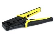 Monoprice RJ11/RJ12/RJ45 6P/8P Modular Plug Cut/Strip/Crimp Tool w/ Ratchet