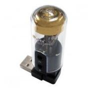 DTS Surround Sensation 5.1-Channel USB Surround Sound Enhancer For Headphones with classic Vacuum Tube