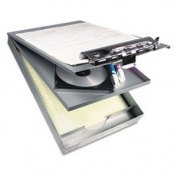 Cruiser Mate Aluminium Storage Clipboard, 2.5cm Capacity, 8 1/2 x 12, Silver