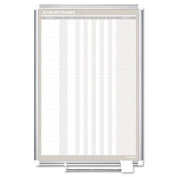 MasterVision Magnetic In & Out Vertical Planner Board 60cm x 90cm