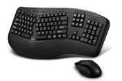 Adesso Tru-Form 1500 Wireless Ergonomic Keyboard and Laser Mouse for Win 8/7/Vista/XP/2000
