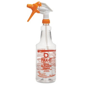 PAK-IT Colour-Coded Trigger-Spray Bottle, 950ml, Orange