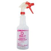 Color-Coded Trigger-Spray Bottle, 32 oz, Dark Red