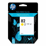 C4913A (HP 82) Ink Cartridge, 69mL, Yellow