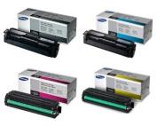 for Samsung Part# CLT-K504S. CLT-C504S. CLT-M504S. CLT-Y504S Toner Cartridge Set