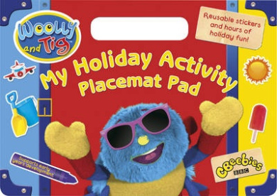 Woolly and Tig: My Holiday Activity Placemat Pad