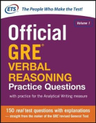 Official GRE Verbal Reasoning Practice Questions