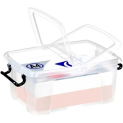 12 Litre Smart Storemaster Box, Folding Lid & Clip Handles