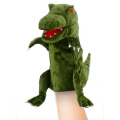 Green Dinosaur Moving Mouth Puppet