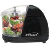 Brentwood - Food Chopper - Black