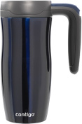 Contigo Autoseal Vacuum Insulated Randolph Handled Travel Mug with Lock, 470ml, Midnight Blue