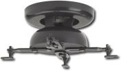 Sanus VMPR1 Tilt & Swivel Ceiling Projector Mount - Black