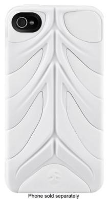 SwitchEasy - CapsuleRebel Hybrid Case for Apple® iPhone® 4 and 4S - White